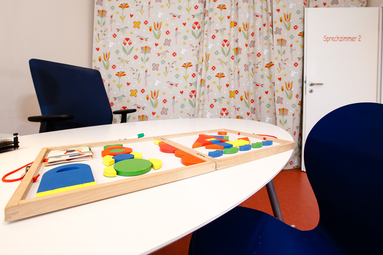Sprechzimmer für Kinder in der Praxis von Dr. med Jan Baade
